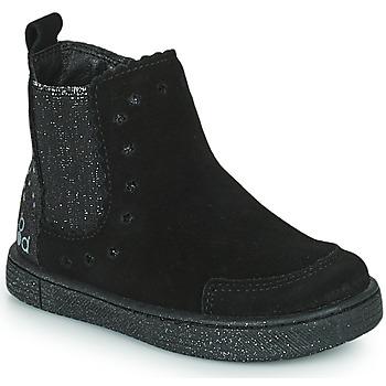 Skor Flickor Boots Mod'8 BLANOU Svart / Glitter