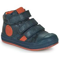 Skor Pojkar Höga sneakers Mod'8 TALYE Marin / Orange