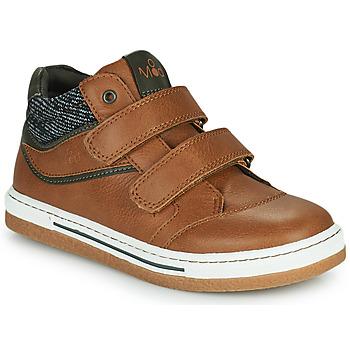 Skor Pojkar Höga sneakers Mod'8 KYNATOL Cognac