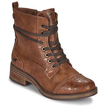 Skor Dam Boots Mustang 1293501 Brun