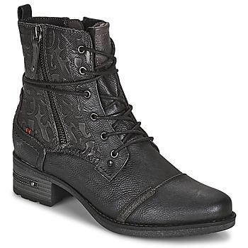 Skor Dam Boots Mustang 1229508 Svart
