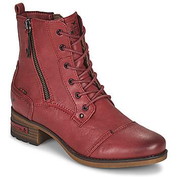 Skor Dam Boots Mustang 1229513 Röd