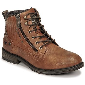 Skor Herr Boots Mustang 4140501 Cognac