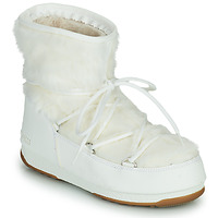 Skor Dam Vinterstövlar Moon Boot MOON BOOT MONACO LOW FUR WP 2 Vit