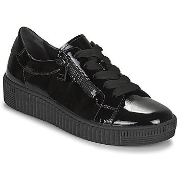 Skor Dam Sneakers Gabor 7333497 Svart
