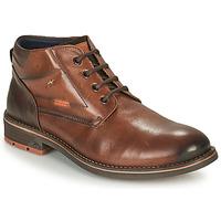 Skor Herr Boots Fluchos TERRY Brun