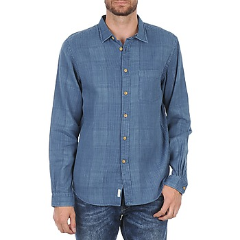 textil Herr Långärmade skjortor Façonnable JJMCT502000ERE Blå