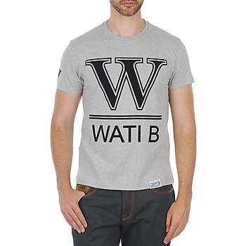 textil Herr T-shirts Wati B TEE Grå