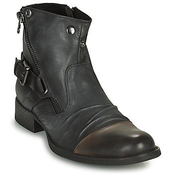 Skor Herr Boots Kdopa DETROIT Svart