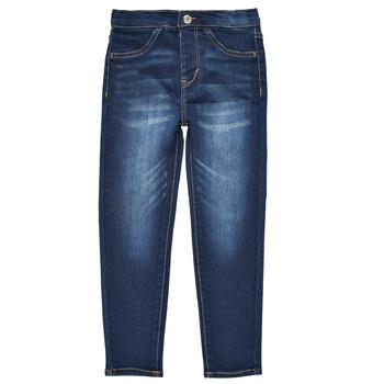 textil Flickor Leggings Levi's PULL-ON JEGGINGS Blå / Mörk