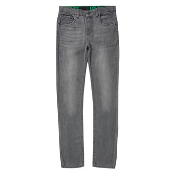 textil Pojkar Skinny Jeans Levi's 510 SKINNY FIT ECO PERFORMANCE JEANS Blå