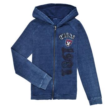 textil Pojkar Sweatshirts Guess TRAMI Blå