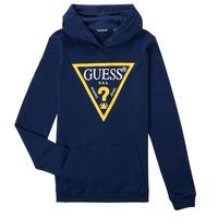 textil Pojkar Sweatshirts Guess CAMILA Marin