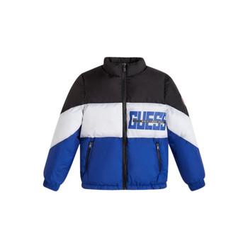 textil Pojkar Täckjackor Guess THABITHA Blå