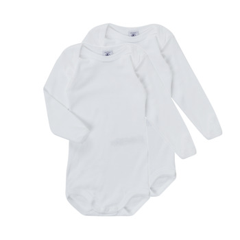 textil Barn Pyjamas/nattlinne Petit Bateau TESSA Vit
