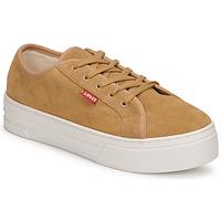 Skor Dam Sneakers Levi's TIJUANA Brun