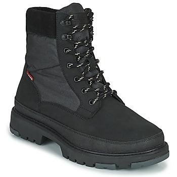 Skor Herr Boots Levi's TORSTEN QUILTED Svart