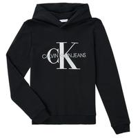 textil Barn Sweatshirts Calvin Klein Jeans TRINIDA Svart