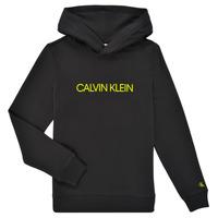 textil Barn Sweatshirts Calvin Klein Jeans ZOPLINA Svart