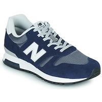 Skor Herr Sneakers New Balance 565 Blå / Grå