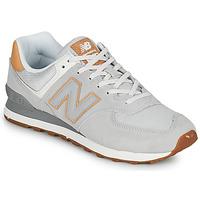 Skor Herr Sneakers New Balance 574 Grå / Beige
