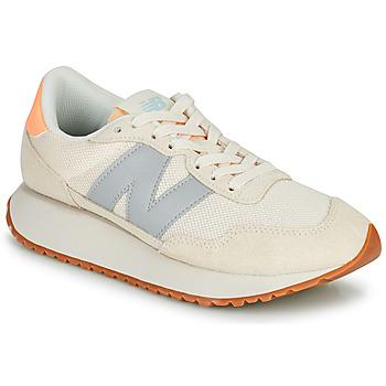Skor Dam Sneakers New Balance 237 Beige