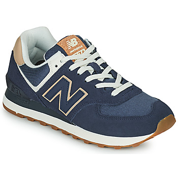 Skor Dam Sneakers New Balance 574 Blå