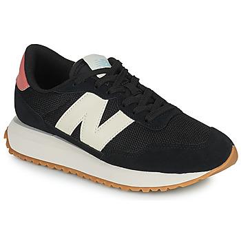 Skor Dam Sneakers New Balance 237 Svart / Vit / Rosa