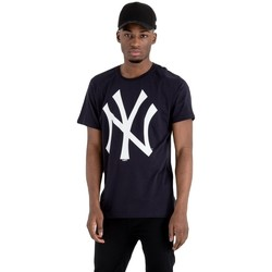 textil Herr T-shirts New-Era MLB New York Yankees Svart
