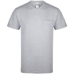 textil T-shirts Gildan GD019 Sport Grå