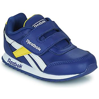 Skor Barn Sneakers Reebok Classic REEBOK ROYAL CLJOG 2  KC Blå / Gul / Vit