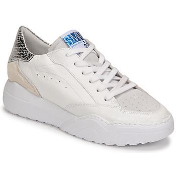 Skor Dam Sneakers Semerdjian TANY Vit / Silver