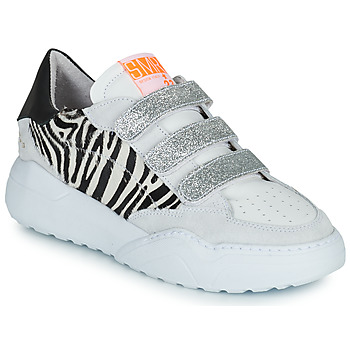 Skor Dam Sneakers Semerdjian OTTO Beige / Svart / Silver
