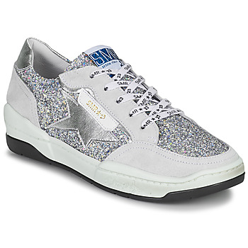 Skor Dam Sneakers Semerdjian CHLO Silver / Beige