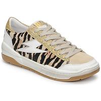 Skor Dam Sneakers Semerdjian THEO Beige / Guldfärgad / Brun