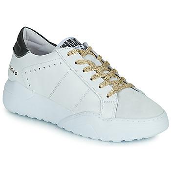 Skor Dam Sneakers Semerdjian KYLE Vit / Beige / Svart