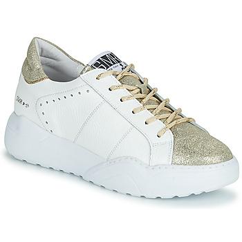 Skor Dam Sneakers Semerdjian KYLE Vit / Guldfärgad