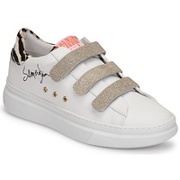 Skor Dam Sneakers Semerdjian BARRY Vit / Guldfärgad