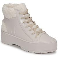 Skor Dam Boots Melissa MELISSA FLUFFY SNEAKER AD Beige / Vit