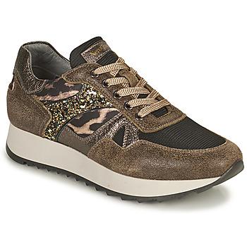 Skor Dam Sneakers NeroGiardini  Kaki / Leopard