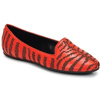 Skor Dam Loafers Roberto Cavalli TPS648 Orange