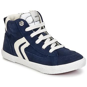 Skor Pojkar Höga sneakers Geox KIWI BOY Marin