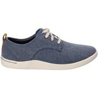 Skor Herr Sneakers Clarks 132276 Blå