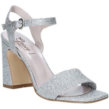 Skor Dam Sandaler Grace Shoes 2384002 Silver