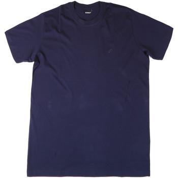 textil Herr T-shirts & Pikétröjor Key Up 2M915 0001 Blå