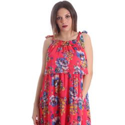textil Dam Klänningar Gaudi 911FD15039 Rosa