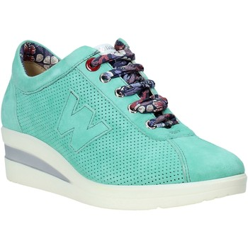 Skor Dam Sneakers Melluso HR20110 Grön