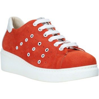 Skor Dam Sneakers Melluso HR20715 Röd