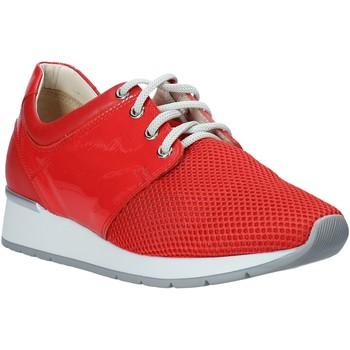 Skor Dam Sneakers Melluso HR20012 Röd