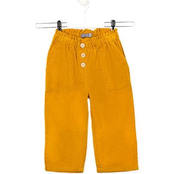 textil Barn Byxor Losan 026-9002AL Gul